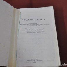 Libros de segunda mano: SAGRADA BIBLIA 1966 EDITORIAL HERDER - REBIBLIA1. Lote 103657823