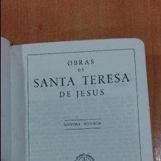 Libros de segunda mano - OBRAS DE SANTA TERESA DE JESUS. APOSTOLADO DE LA PRENSA. 1951 - 103691895
