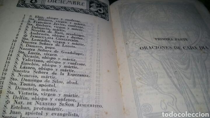 Libros de segunda mano: devocionario liturgico / 1942 / enrique diez benedictino - Foto 8 - 57261317