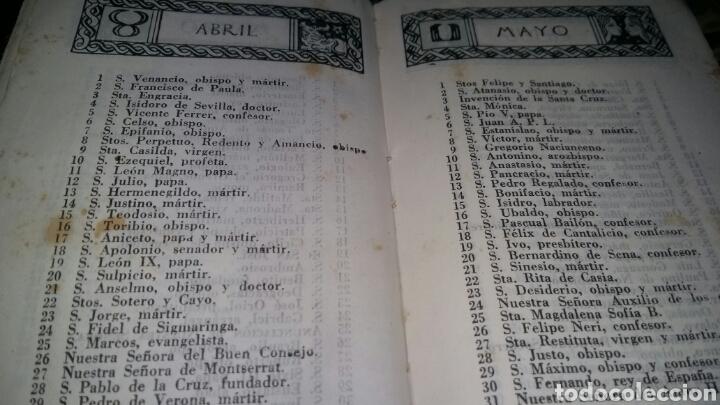 Libros de segunda mano: devocionario liturgico / 1942 / enrique diez benedictino - Foto 12 - 57261317
