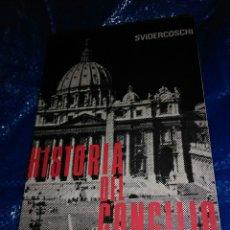 Libros de segunda mano: HISTORIA DEL CONCILIO VATICANO II. SVIDERCOSCHI. ED. COCULSA. 1968.. Lote 103999379