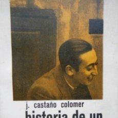 Libros de segunda mano: HISTORIA DE UN MILITANTE JOCISTA CASTAÑO COLOMER NOVA TERRA 1964. Lote 104530223