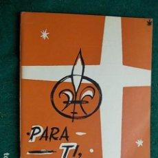 Libros de segunda mano: LIBRO INSTRUCCIONES PARA TI SCOUT CATOLICO CUBA 1.966. Lote 104588731