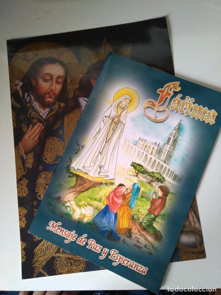 FOTOGRAFÍA Y LIBRO 'MENSAJE DE PAZ Y ESPERANZA' - A. C. SALVADME REINA DE FÁTIMA - 2006 (Libros de Segunda Mano - Religión)