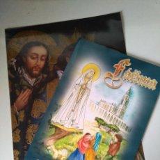 Libros de segunda mano: FOTOGRAFÍA Y LIBRO 'MENSAJE DE PAZ Y ESPERANZA' - A. C. SALVADME REINA DE FÁTIMA - 2006. Lote 104811711