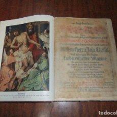 Libros de segunda mano: ANTIGUO LIBRO RELIGIOSO EN ALEMAN DE 1912 TIPO BIBLIA *LA VIDA DE JESUCRISTO*. Lote 104880811