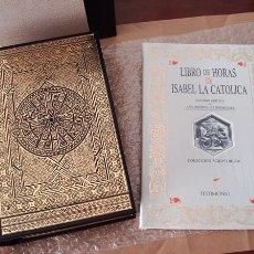 Libros de segunda mano: LIBRO DE HORAS DE ISABEL LA CATÓLICA, SIGLO XV (ENCUADERNACIÓN MUDÉJAR). Lote 101061367