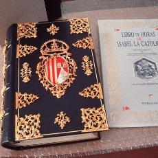 Libros de segunda mano: LIBRO DE HORAS DE ISABEL LA CATÓLICA, SIGLO XV, ENCUADERNACIÓN DE LUJO. Lote 38608695