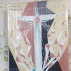 Libros de segunda mano: HORNO ARDIENTE DE CARIDAD. PÍO DE MODREGANES. 1963.. Lote 105369931