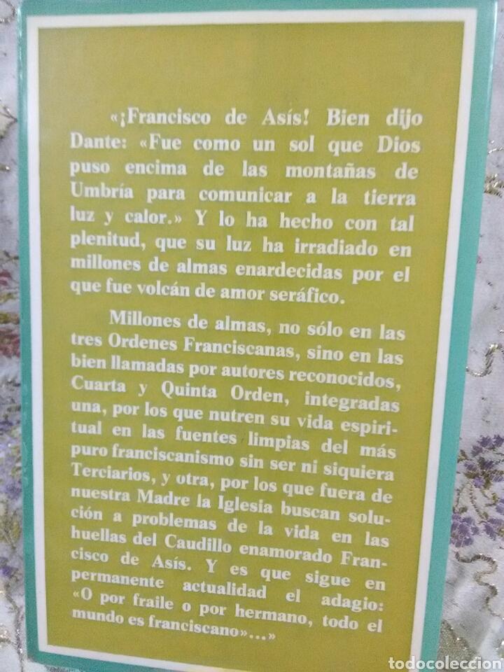 Libros de segunda mano: Con Francisco hacia Dios. J. Sanchis Alventosa. Ed. Asís. 1980. - Foto 2 - 105389559