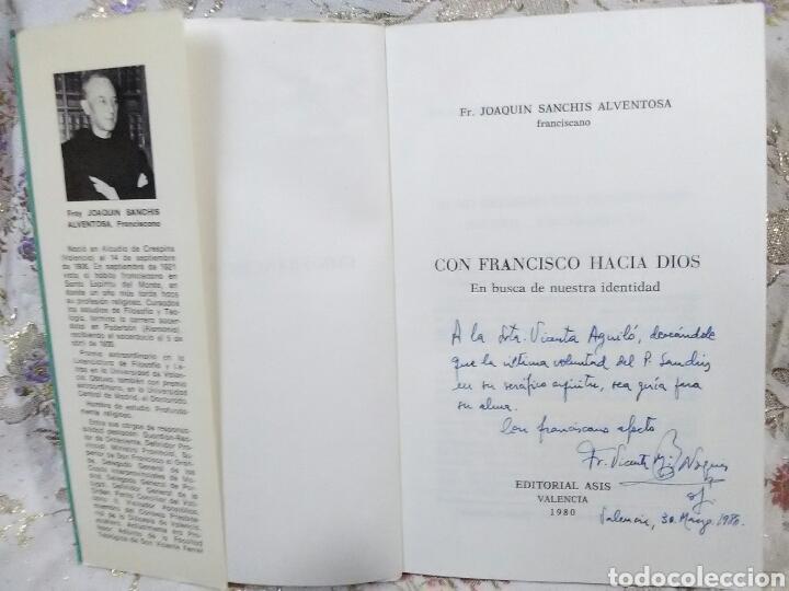 Libros de segunda mano: Con Francisco hacia Dios. J. Sanchis Alventosa. Ed. Asís. 1980. - Foto 3 - 105389559