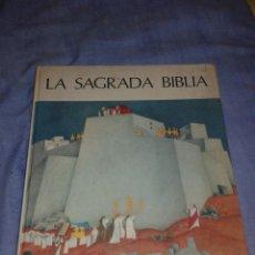 Libros de segunda mano: LA SAGRADA BIBLIA EDITORIAL JUVENTUD PRIMERA EDICION PARA NIÑOS. Lote 105764946