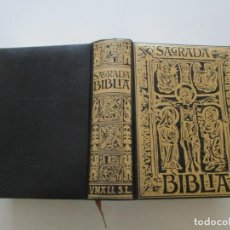 Libros de segunda mano: SAGRADA BIBLIA. EDICIÓN FACSIMILAR DE LA IMPRESA EN 1884. RM84985. . Lote 105956851