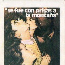Libros de segunda mano: SE FUE CON PRISAS A LA MONTAÑA - LOS HECHOS DE GARABANDAL PRESENTADOS POR GARCÍA DE PESQUERA (1979). Lote 106002315