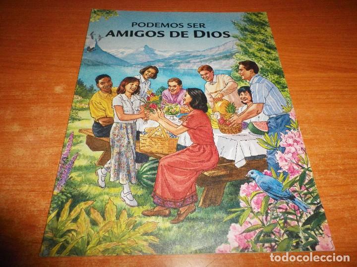 PODEMOS SER AMIGOS DE DIOS FOLLETO 2000 ESPAÑA 32 PAGINAS WACHT TOWER TESTIGOS DE JEHOVA (Libros de Segunda Mano - Religión)