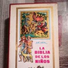 Libros de segunda mano: LA BIBLIA DE LOS NIÑOS - PIET WORM - 1964 - TRES TOMOS PRESENTADOS EN ESTUCHE. Lote 162128962
