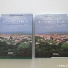 Libros de segunda mano: RAMÓN YZQUIERDO PERRÍN. LOS CAMINOS A COMPOSTELA. EL ARTE DE LA PEREGRINACIÓN. RMT85042. . Lote 106682595