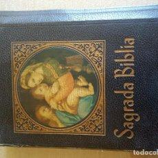Libri di seconda mano: SAGRADA BIBLIA. MONS DR JUAN STRAUBINGER. Lote 106917379