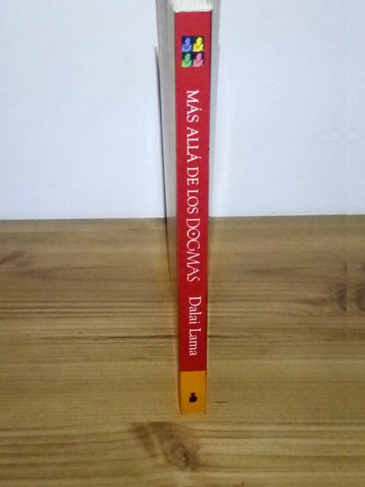 Libros de segunda mano: MÁS ALLÁ DE LOS DOGMAS. DALAI LAMA XIV, Vivencias espirituales. 1 ª ed. 2001 - Foto 4 - 103351075