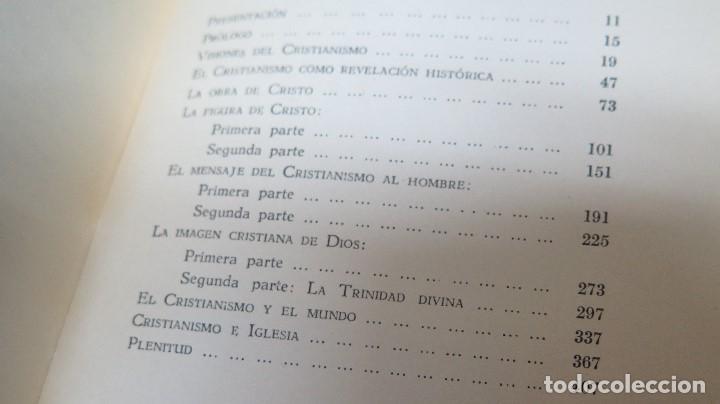 Libros de segunda mano: SOBRE LA ESENCIA DEL CRISTIANISMO. MICHAEL SCHMAUS - Foto 2 - 107328983