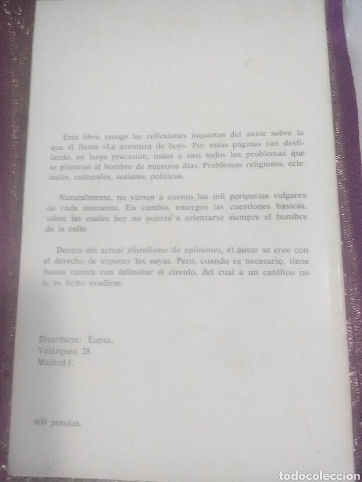 Libros de segunda mano: La Aventura de Hoy. Jesús M. Granero. 1976. - Foto 2 - 107546510
