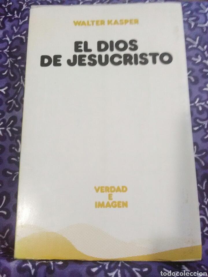 EL DIOS DE JESUCRISTO. W. KASPER. EDS. SÍGUEME, 1985. (Libros de Segunda Mano - Religión)