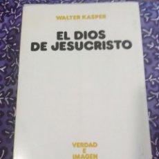 Libros de segunda mano: EL DIOS DE JESUCRISTO. W. KASPER. EDS. SÍGUEME, 1985.. Lote 107763444