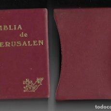 Libri di seconda mano: BIBLIA DE JERUSALEN - CON ESTUCHE.. Lote 108733059