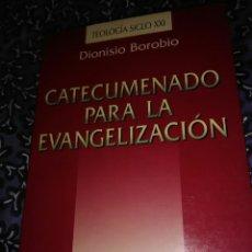 Libros de segunda mano: CATECUMENADO PARA LA EVANGELIZACIÓN. D. BOROBIO. SAN PABLO, 1997.. Lote 108847136