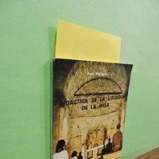 Libros de segunda mano: DIDACTICA DE LA LITURGIA DE LA MISA. MARQUÉS, JUAN. ED. MAGISTERIO ESPAÑOL. MADRID 1965. Lote 108880063
