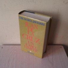 Libros de segunda mano: JOSE MARIA JAVIERRE - JUAN DE LA CRUZ, UN CASO LIMITE - EDICIONES SIGUEME 1991 - FIRMADO. Lote 108900615