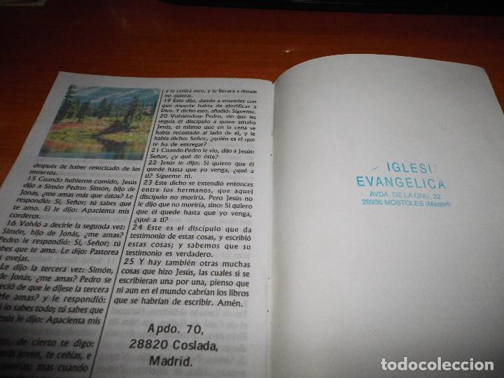 Libros de segunda mano: EL EVANGELIO SEGUN SAN JUAN Siete pasos para conocer a Dios FOLLETO IGLESIA EVANGELICA TAPA BLANDA - Foto 3 - 109591483
