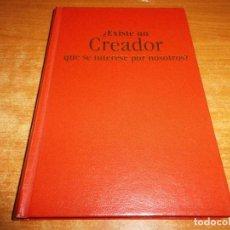 Libros de segunda mano: ¿EXISTE UN CREADOR QUE SE INTERESE POR NOSOTROS? TESTIGOS DE JEHOVA LIBRO 1998 BOLSILLO WATCHTOWER. Lote 109792555