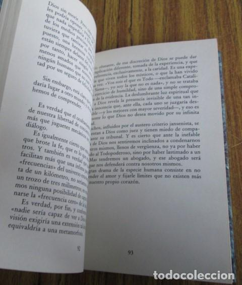 Libros de segunda mano: PREGUNTAS SOBRE DIOS - Por André Frossard - Ed. Rialp 1991 - Foto 5 - 109979955