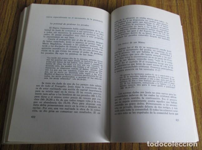 Libros de segunda mano: EL MENSAJE DE SALVACION - Por Dominico Grasso - Ed. Paulinas 1972 - Foto 4 - 109985143