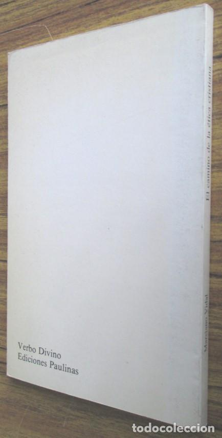 Libros de segunda mano: EL CAMINO DE LA ETICA CRISTIANA - Por Mauricio Vidal - Ed. Verbo divino 1985 - Foto 2 - 109992795