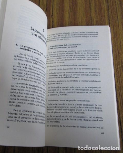 Libros de segunda mano: EL CAMINO DE LA ETICA CRISTIANA - Por Mauricio Vidal - Ed. Verbo divino 1985 - Foto 6 - 109992795