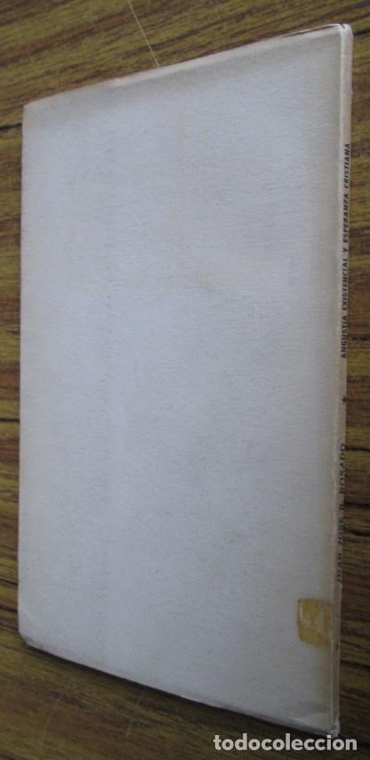 Libros de segunda mano: ANGUSTIA EXISTENCIAL Y ESPERANZA CRISTIANA - Por Juan José R. Rosado - Ed. rialp 1964 - Foto 2 - 109996603