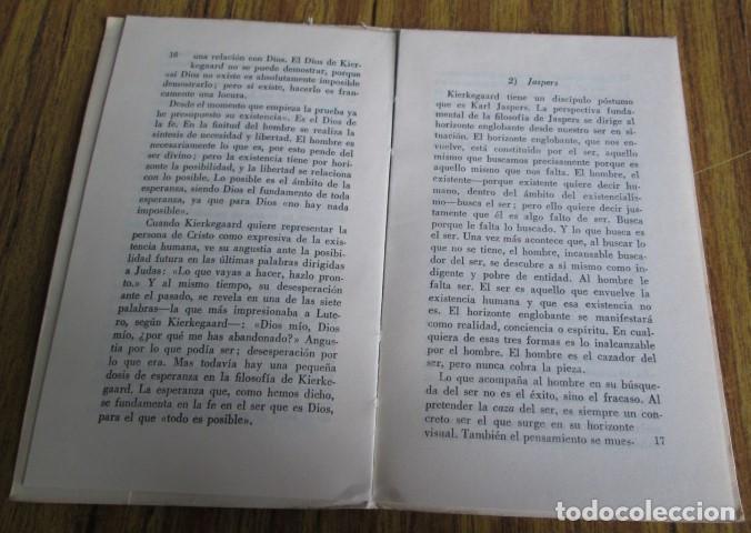 Libros de segunda mano: ANGUSTIA EXISTENCIAL Y ESPERANZA CRISTIANA - Por Juan José R. Rosado - Ed. rialp 1964 - Foto 4 - 109996603