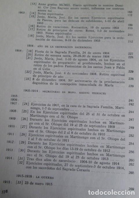 Libros de segunda mano: DIARIO DEL ALMA - Y otros escritos piadosos - Juan XXIII - Ed. Cristiandad 1964 - Foto 5 - 110001939