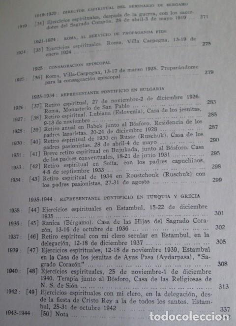 Libros de segunda mano: DIARIO DEL ALMA - Y otros escritos piadosos - Juan XXIII - Ed. Cristiandad 1964 - Foto 6 - 110001939