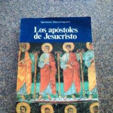 Libros de segunda mano: LOS APOSTOLES DE JESUCRISTO -- IGNACIO DOMINGUEZ -- SOCIEDAD DE EDUCACION ATENAS 1998 --. Lote 118883362