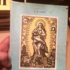 Libros de segunda mano: ANTIGUO LIBRO HISTÒRIA DELS FAVETS DE MANRESA ESCRITO POR JOSEP M. GASOL AÑO 1970 . Lote 110075239