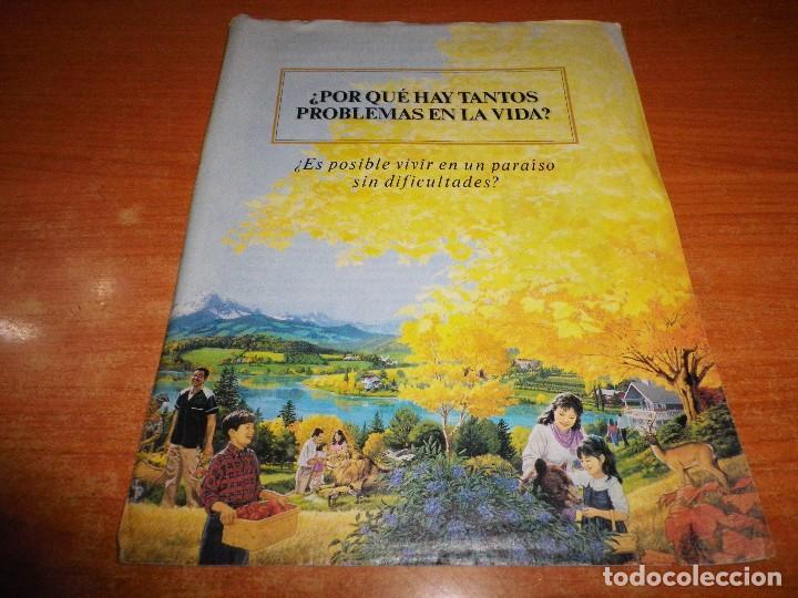 ¿POR QUE HAY TANTOS PROBLEMAS EN LA VIDA? TRATADO TESTIGOS DE JEHOVA Nº 34 ESPAÑA WATCHTOWER (Libros de Segunda Mano - Religión)