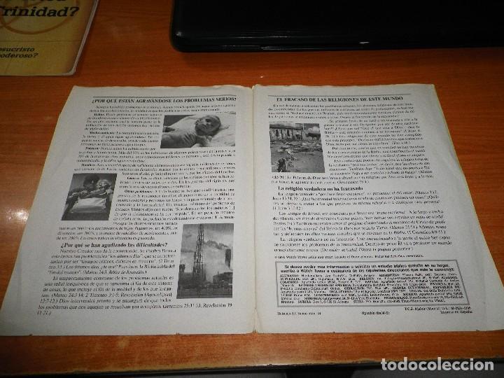 Libros de segunda mano: ¿POR QUE HAY TANTOS PROBLEMAS EN LA VIDA? TRATADO TESTIGOS DE JEHOVA Nº 34 ESPAÑA WATCHTOWER - Foto 2 - 110115055
