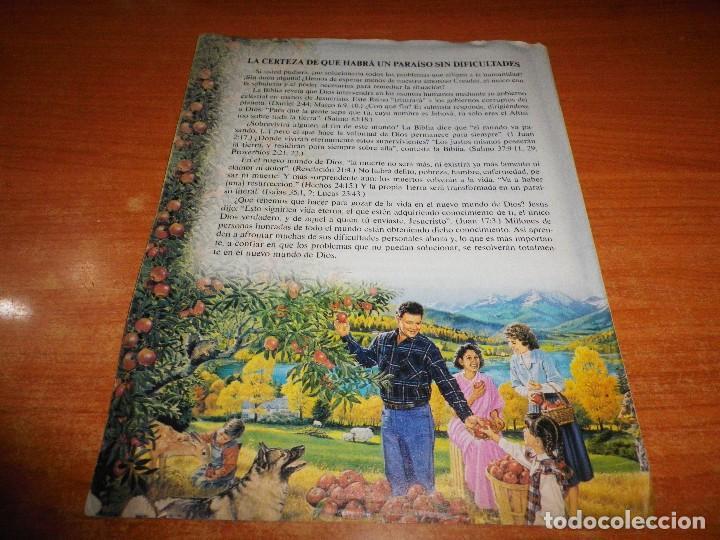 Libros de segunda mano: ¿POR QUE HAY TANTOS PROBLEMAS EN LA VIDA? TRATADO TESTIGOS DE JEHOVA Nº 34 ESPAÑA WATCHTOWER - Foto 3 - 110115055