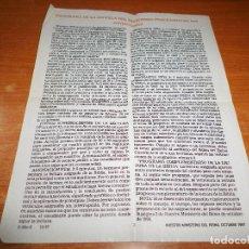 Libros de segunda mano: PROGRAMA DE LA ESCUELA DEL MINISTERIO TEOCRATICO 1998 TESTIGOS DE JEHOVA WATCHTOWER. Lote 110115483