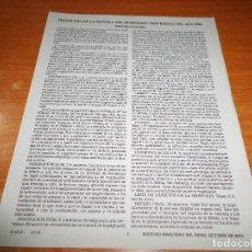 Libros de segunda mano: PROGRAMA DE LA ESCUELA DEL MINISTERIO TEOCRATICO 2004 TESTIGOS DE JEHOVA WATCHTOWER. Lote 110115943