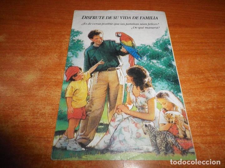 DISFRUTE DE SU VIDA DE FAMILIA TRATADO TESTIGOS DE JEHOVA T-21-S 1992 ESPAÑA WATCHTOWER (Libros de Segunda Mano - Religión)