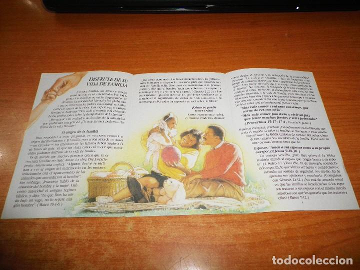 Libros de segunda mano: DISFRUTE DE SU VIDA DE FAMILIA TRATADO TESTIGOS DE JEHOVA T-21-S 1992 ESPAÑA WATCHTOWER - Foto 2 - 110121579